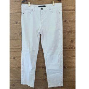 Calvin Klein White skinny Highrise Jeans Sz. 14